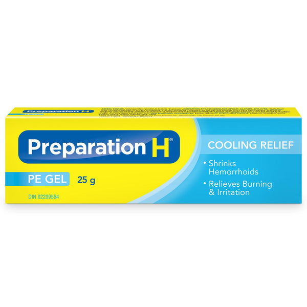 Preparation H Cooling Relief  Gel 25g (0.88oz)