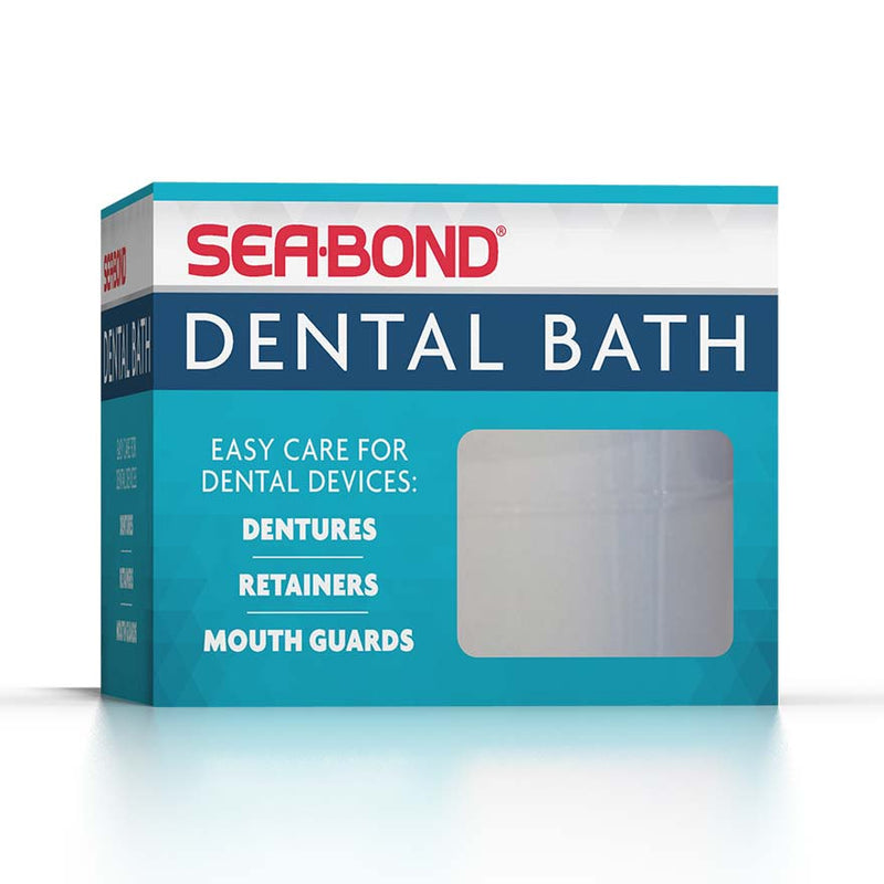 Sea Bond Denture Bath