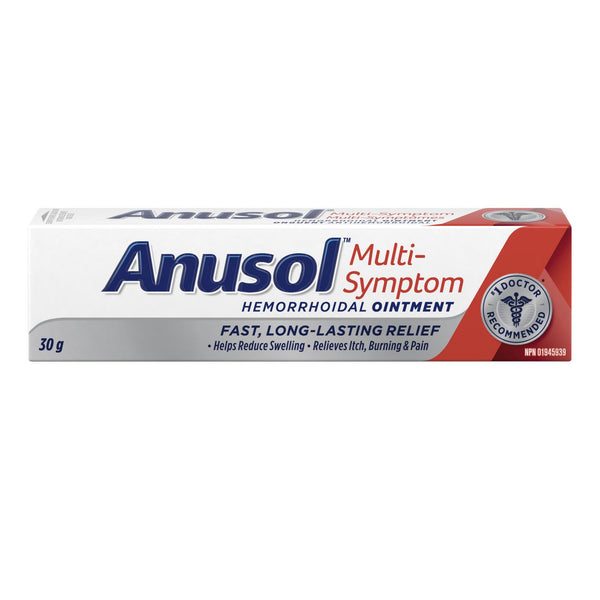 Anusol Regular Pain Relief Hemorrhoidal Ointment (30g)