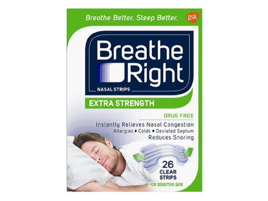 Breathe Right Strips Extra (26 Clear Strips)