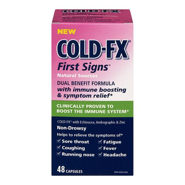Cold-FX First Signs 48 capsules