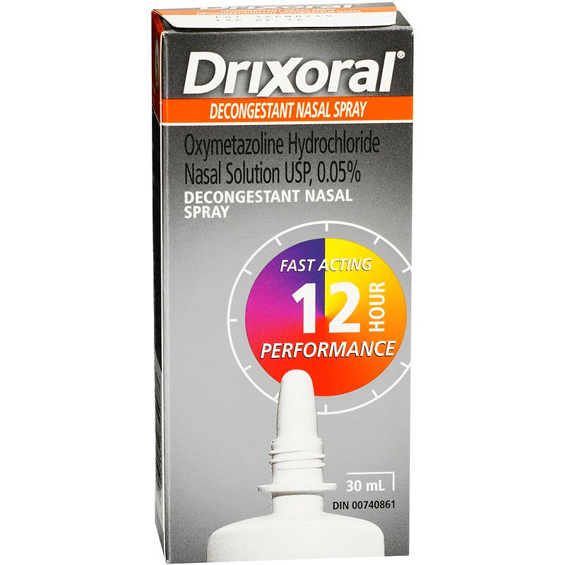 Drixoral Decongestant Nasal Spray 30ml