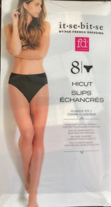 French Dressing It-Se-Bit-Se Women's HiCut Panties (8 pack)