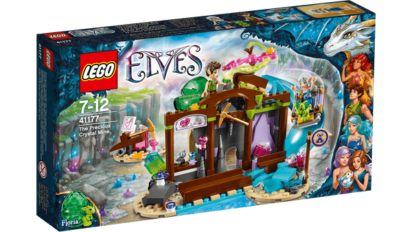 Lego 41177 Elves The Precious Crystal Mines - canoutlet.com