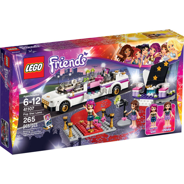 Lego 41107 Friends Pop Star Limo - canoutlet.com