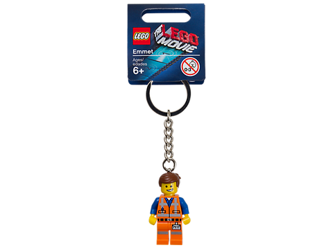 Lego 850894 Lego Movie Emmet Key Chain - canoutlet.com