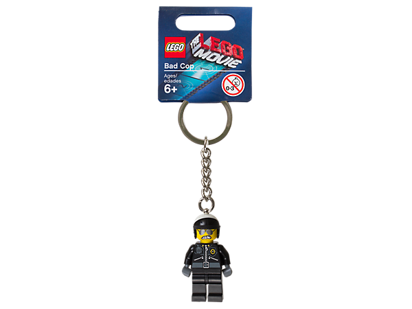 Lego 850896 Lego Movie Bad Cop Key Chain - canoutlet.com