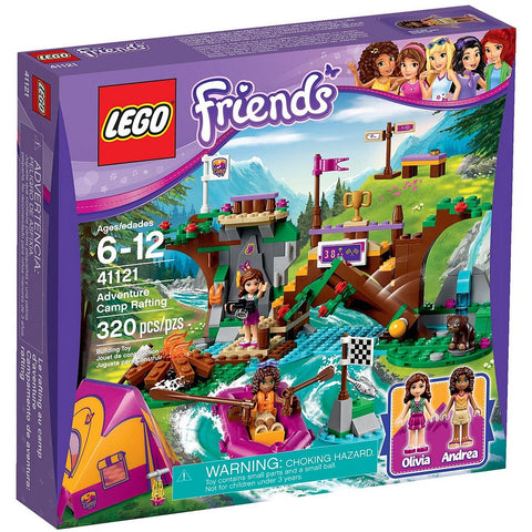 Lego 41121 Friends Adventure Camp Rafting - canoutlet.com