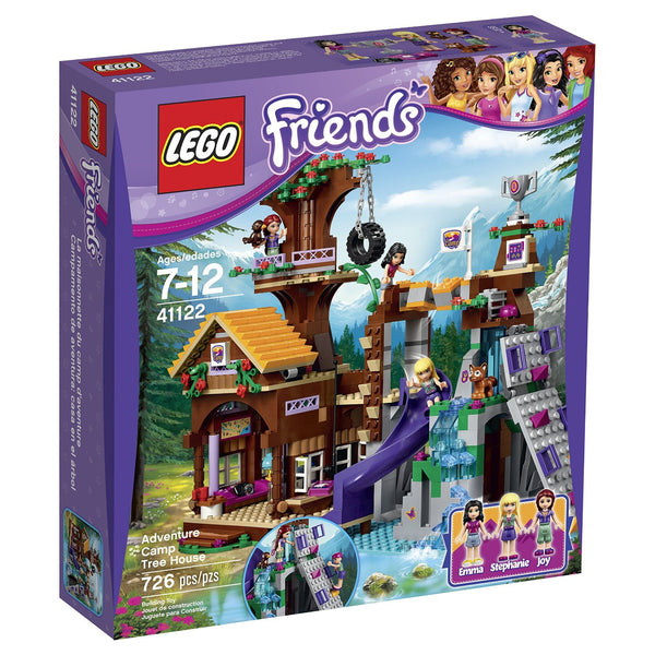 Lego 41122 Friends Adventure Camp Tree house - canoutlet.com