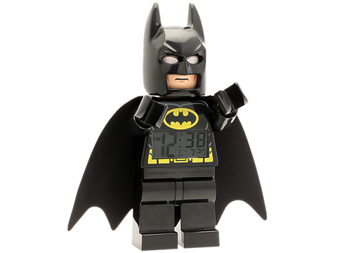 Lego 5002423 DC Comics Super Heroes Batman Minifigure Clock - canoutlet.com
