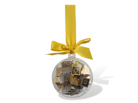 Lego 853345 Holiday Ornament with Gold Bricks - canoutlet.com
