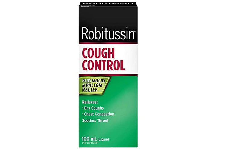 Robitussin Cough Control Plus Mucus & Phlegm Relief 100mL