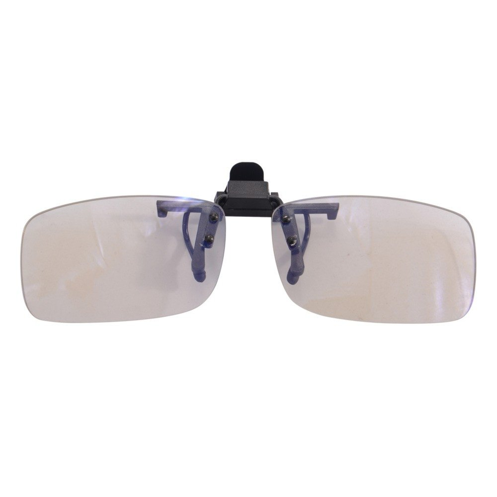 ViZion Clip On Gaming Lenses - Blue Light Blocking & Anti-Fatigue Eyewear