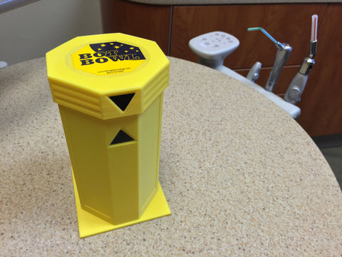 Bot Bowl® Yellow Dispenser