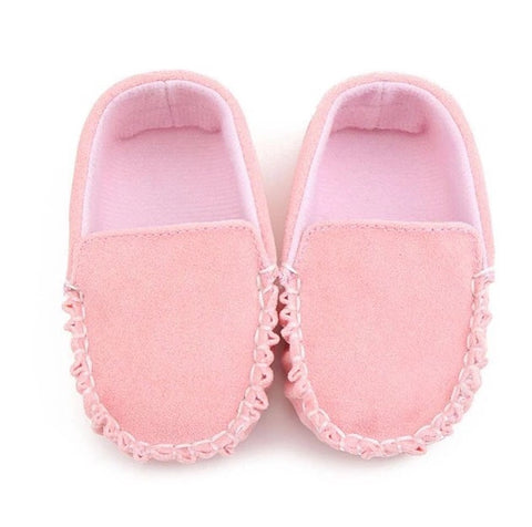 Loafer Moccasin - Soft Pink
