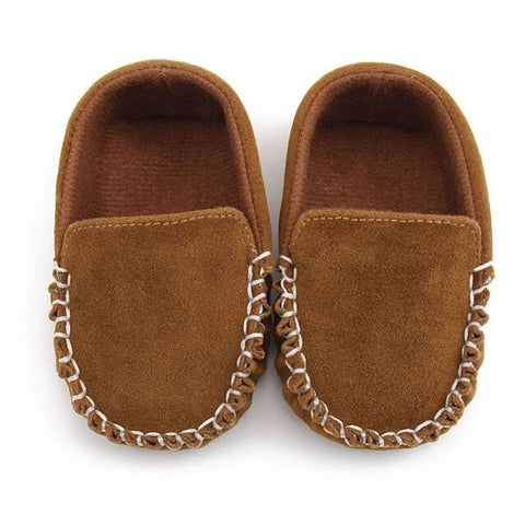 Loafer Moccasin - Tawny Brown
