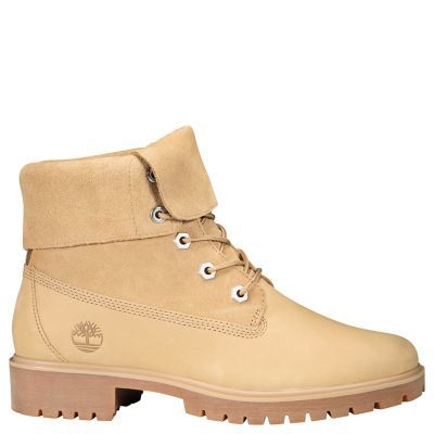 Timberland Jayne Fold Down Boot Beige