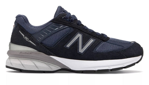 New Balance Womens 990v5 - Navy/Silver