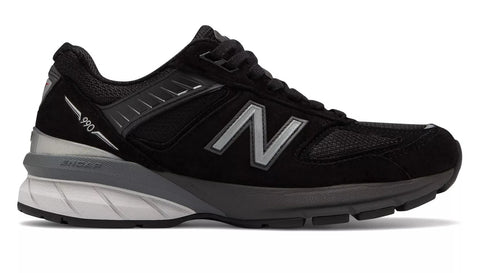 New Balance Womens 990v5 - Black/Silver