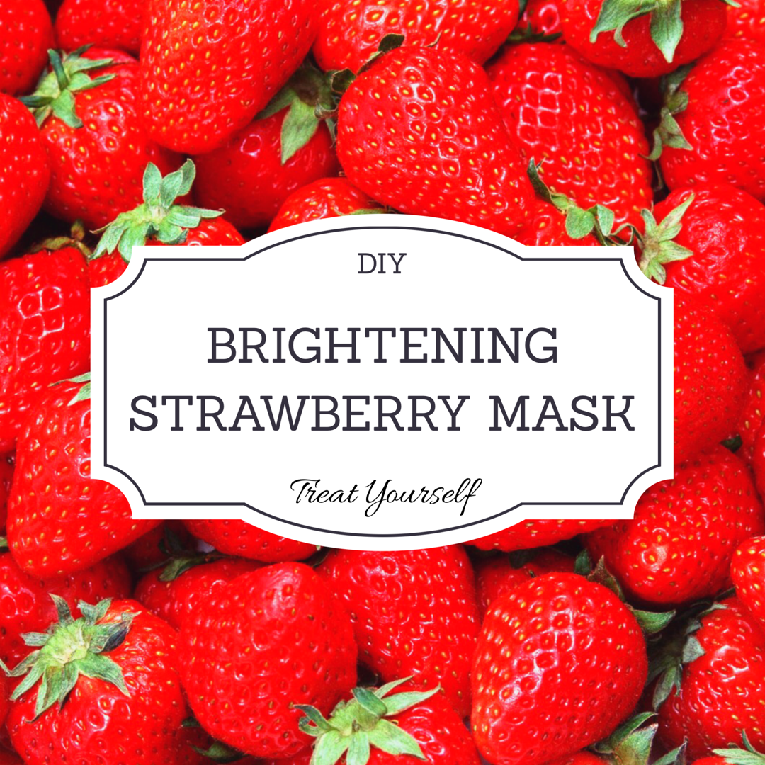 Is your skin ready for Spring?  DIY Strawberry mask.