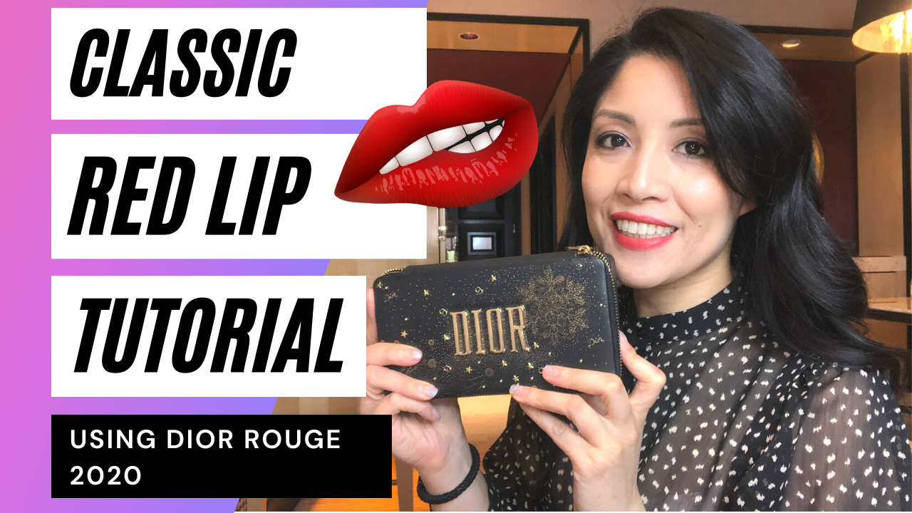 How to Wear a Classic Red Lip - Makeup Tutorial
