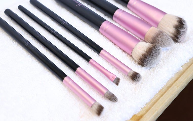 Image result for Laying makeup brushes towel