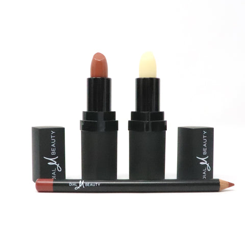 Caramel Lip Kit with Vitamin E