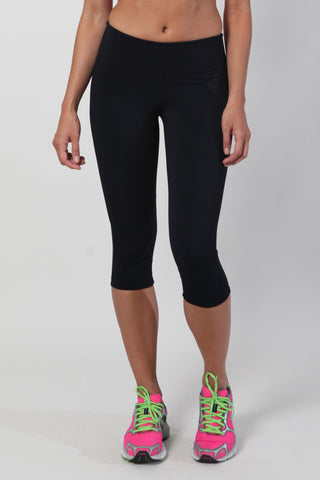 Compression capri - black