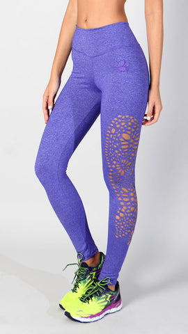 Andrea legging-purple