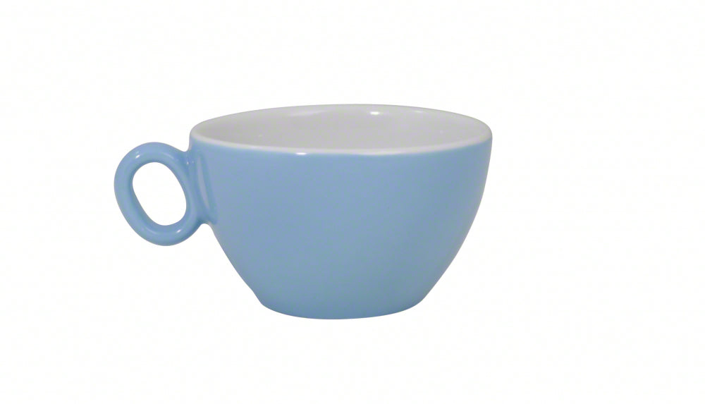 Inker Luna Cappuccino Cups - 8oz / 250ml - Pack of 6 - 8 Colours