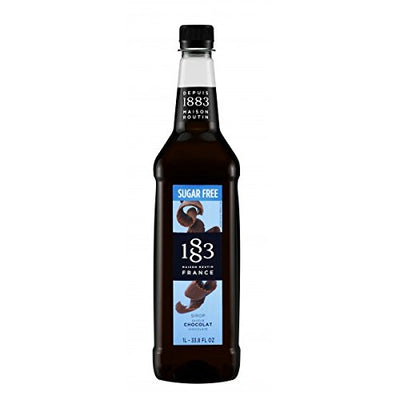 1883 Chocolate Syrup - Sugar Free - 1l