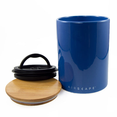 Planetary Designs Airscape Ceramic 64oz Coffee Bean Canister - 4 Colours