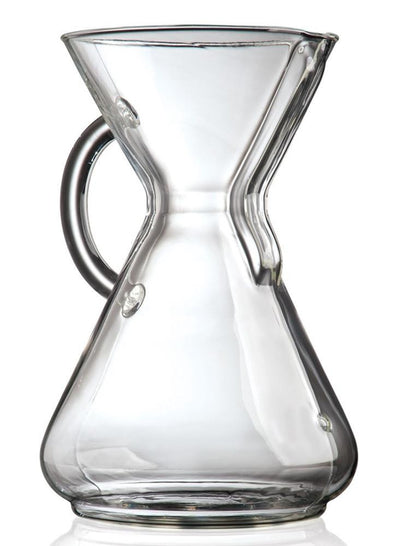 Coffee Makers - Chemex CM-10GH - 10 Cup Coffeemaker W/ Glass Handle