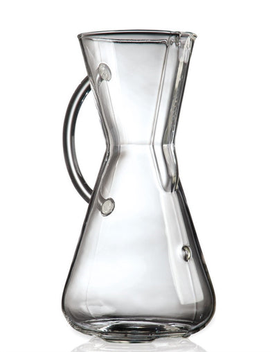 Coffee Makers - Chemex CM-1GH - 3 Cup Coffeemaker W/ Glass Handle