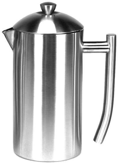 Coffee Makers - Frieling Ultimo All Stainless Steel French Press - 17oz - Brushed