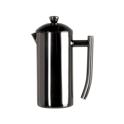 Coffee Makers - Frieling Ultimo Black All Stainless Steel French Press - 23oz