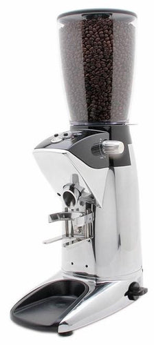 Compak F8 Fresh Digital Burr Grinder - Polished Aluminium
