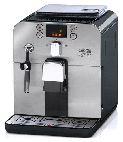 Gaggia Brera Super Automatic Espresso Machine - Black