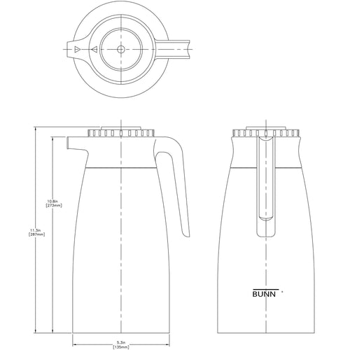 Bunn Thermal Pitcher - 1.9L