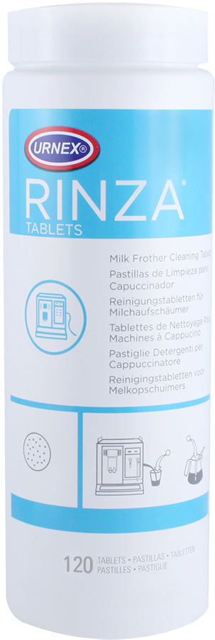 Urnex Rinza Milk Frother Cleaner - 120 tablets