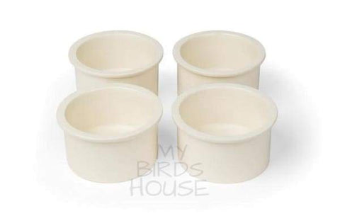 Prevue Pet Products Ceramic Replacement Bowl Cup Set