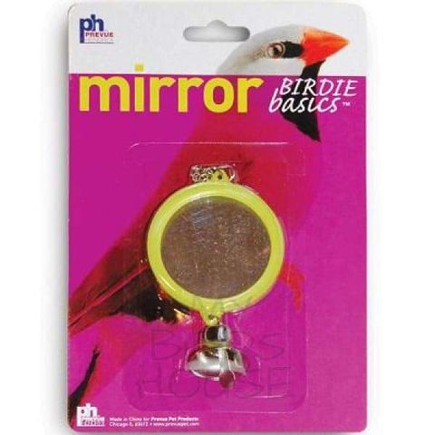 2-Sided Round Mirror Bird Cage