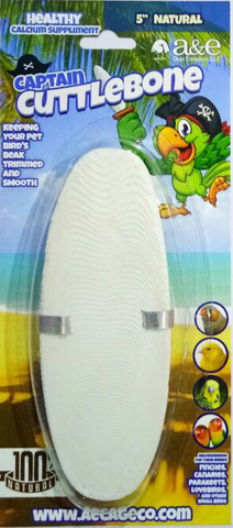 "5"" Natural Cuttlebone Single Blister Pack"
