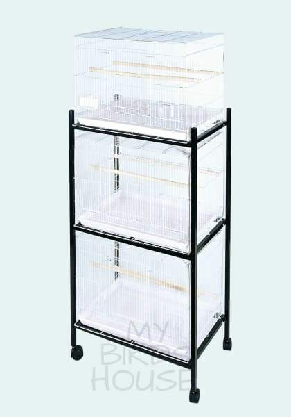 503 Stand-3 White - 3 Tier Stand For Flight Cages Cage