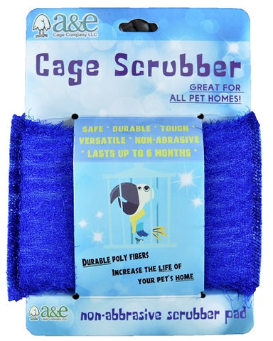 A&E Bird Cage Cleaning Scrub Pad