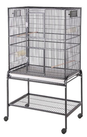 "HQ 32"" x 21"" Flat Top Bird Cage"
