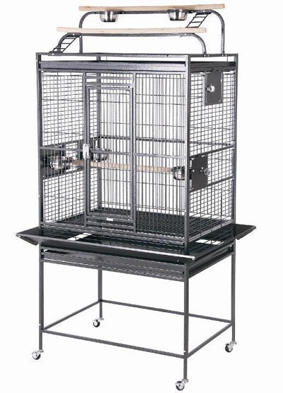 "HQ 32"" x 23"" Play Top Bird Cage"