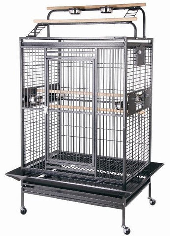 "HQ 40"" x 30"" Play Top Bird Cage"