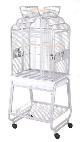 "HQ 22"" x 17"" Victorian Open Top Bird Cage"