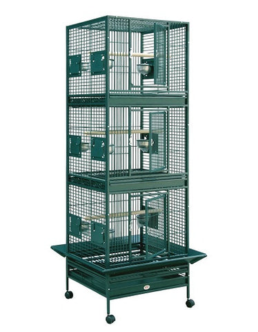 "HQ 24"" x 22"" Triple Stack Bird Cage"
